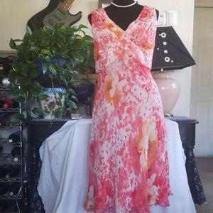 Silk Dress, sz 18W